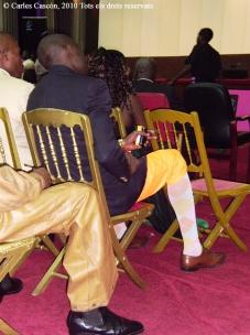 Festival Sanza de M'foa-Honneurs aux Créateurs, al Palai du Parlamaent de Brazzaville