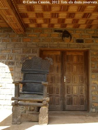 Cadira del Rei per rebre visites