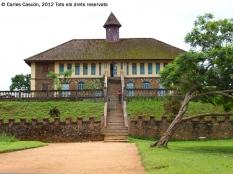Chefferie de Bafut. Palau-museu