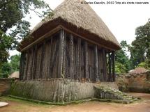 Chefferie de Bafut. Achum, la cabana sagrada d'iniciació dels chefs