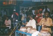 Uno de los últimos conciertos del malogrado Ndongo Lô en el Alizé Club de Dakar