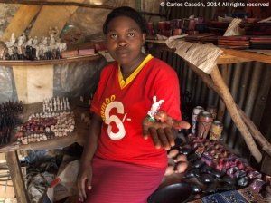 Haciendo amigo en el Masai Markets: Kiboko