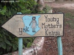 Entrance YMK in Diani