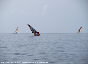 On the way to Funzi Island, Kenya