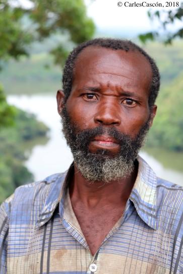 Fisherman, Mwamba Lake