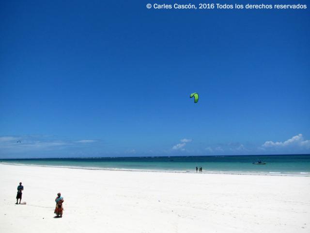 Kitesurf en Diani Beach (Kenya)