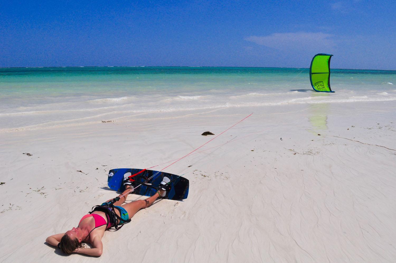 Kitesurf H2O Extreme en Diani Beach Kenia