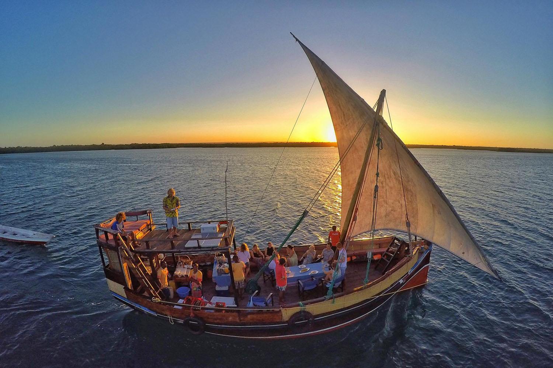 Excursión en dhow con Tribe Watersports Kenia Watamu